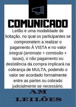 COMUNICAÇÃO DE COMPRA
