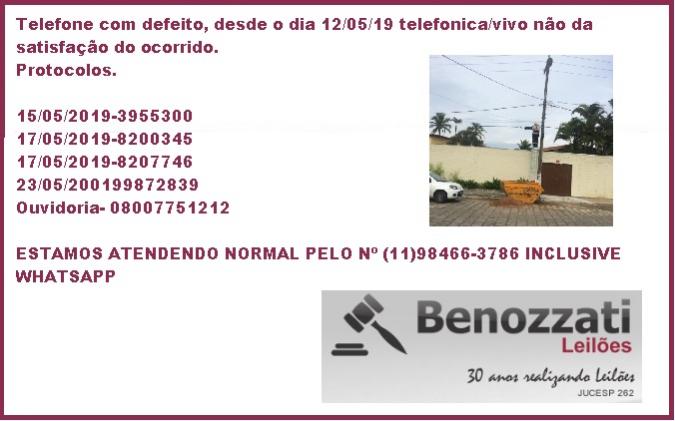 TELEFONE COM PROBLEMA