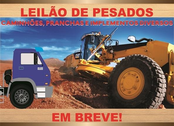 LEILÃO DE PESADOS (EM BREVE)
