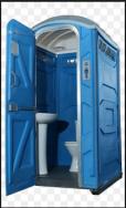 3 Cabines Sanitárias Químicas, em Polietileno