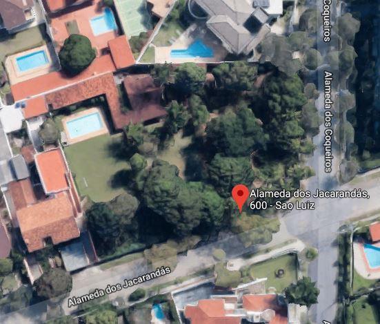 02 LOTES C/ 1043 E 1056 M² - 01 DELES C/ CONSTRUÇÃO - SÃO LUIZ/ BELO HORIZONTE
