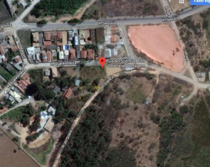ÁREA C/ 2.235M² C/ 02 CASAS E GALPÃO - B. CHÁCARAS - CONTAGEM/MG