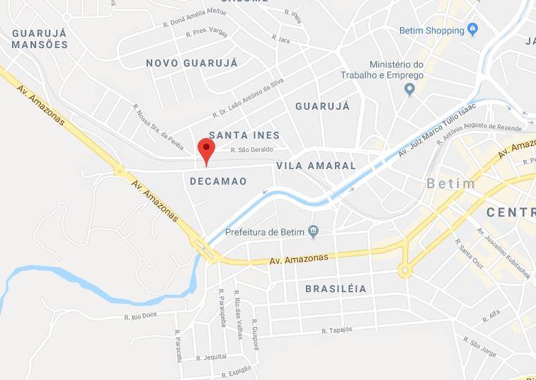 LOTE 822 M² - CASA 02 QTOS + BARRACÃO - BETIM/MG