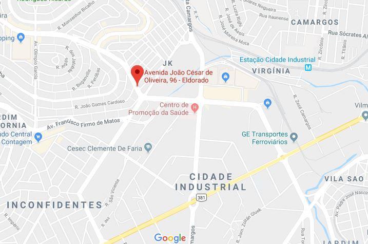 CASA 110M² EM ÁREA DE 348M² - AV. JOÃO CÉSAR DE OLIVEIRA - CONTAGEM