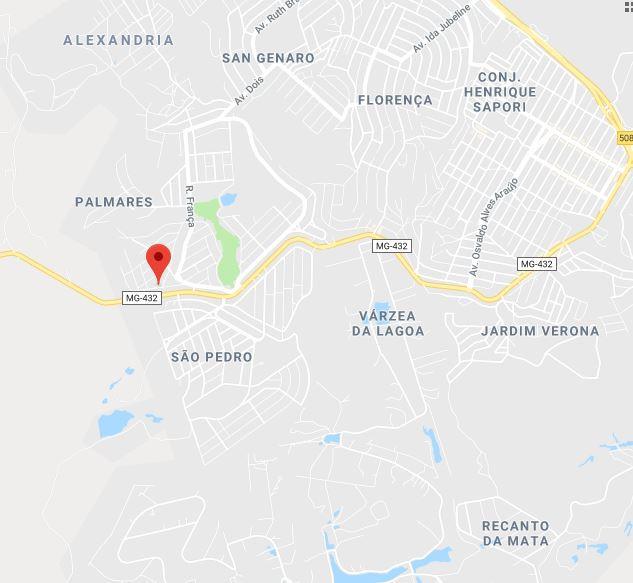 LOTE C/ 889 M² - B. SÃO FRANCISCO DE ASSIM - ESMERALDAS/ MG