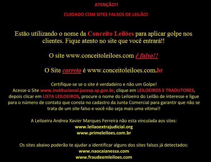 Site Falso Conceito