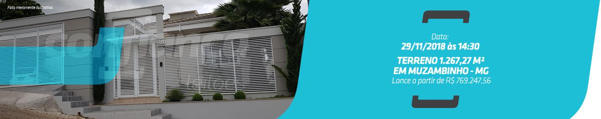 1ª VARA CÍVEL DE FRANCA - Terreno 1.267,27m², Rua Madri nº480 – Cháca