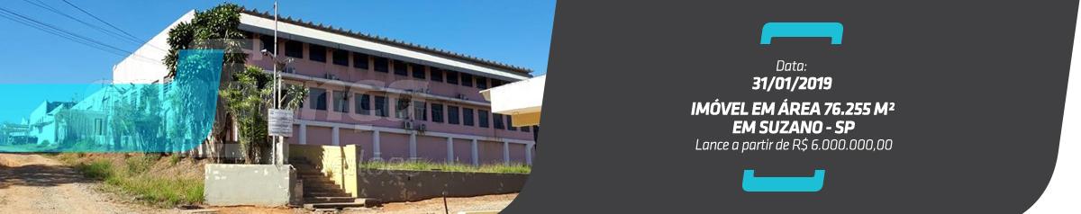 Suzano SP – Imóvel em área 76.255 m²