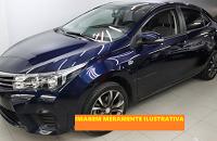 LEILÃO JUDICIAL - Toyota/Corolla GLI 1.8 - Azul, 2016,  álcool/gasolina