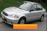 LEILÃO JUDICIAL - Veículo HONDA/CIVIC EX - Gasolina - 1999/ 1999 - prata -Guarujá/SP