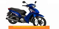 LEILÃO JUDICIAL - HONDA/BIZ 125 EX - azul 2013/2014 álcool/gasolina - Guarujá/SP