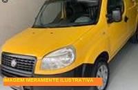 LEILÃO JUDICIAL - FIAT/DOBLO CARGO FLEX, 2007/2008,  amarela - São Vicente/SP