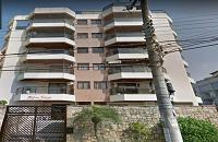 LEILÃO JUDICIAL - Direitos sob. apto. de 130,615 m² Ed. Toledo - Guarujá/SP