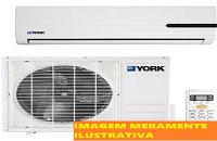 LEILÃO JUDICIAL - Ar condicionado York - modelo Y0EA38FS - Guarujá/SP