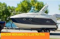 LEILÃO JUDICIAL - Embarcação BIG TIGER - Guarujá/SP