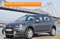 LEILÃO JUDICIAL - Renault Sandero Stepway - prata - 2012 - álcool/gasolina
