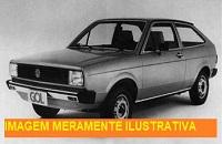 LEILÃO JUDICIAL - Veículo VW Gol, cor cinza, ano 89 - Guarujá/SP