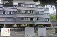 LEILÃO JUDICIAL - Direitos possessórios do apto. de 78,25 m², Cond. Ed. Raquel - Guarujá/SP