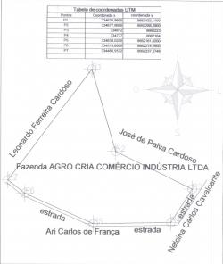 ÁREA DE TERRA EM PONTE ALTA DO BOM JESUS - TO POR APENAS R$ 15.000,00