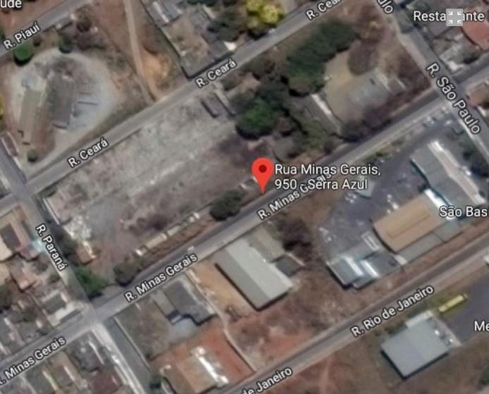 LEILÃO TRT 3ª REGIÃO - ÁREA C/ 7.920 M² - C/ PRÉDIO (FÁBRICA) - VESPASIANO/ MG